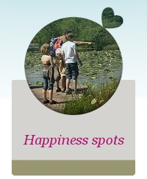 Happiness spots